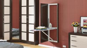 Фото Пуфики,гладил.доска Панель с зеркалом со встроенной гладильной доской Тип-1
