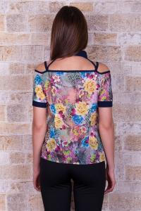 Фото Женская одежда, Блузы и рубашки Блуза Британи к/р