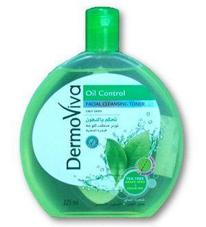 Лосьон очищающий для лица Dermoviva Oil Control 225 мл