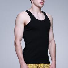 Фото ОДЕЖДА, Для мужчин Фитнес н-образный сексуальный жилет, мужчины синглетный / бег рубашка / мальчик спортивная одежда / мужской нижняя рубашка, underwaist, жилет