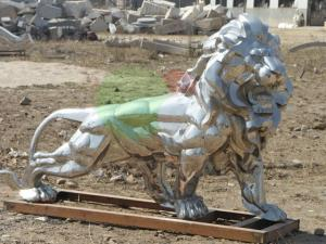 Фото  Декоративные элементы из нержавеющей стали