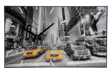 """Часы-картина настенные """"Такси"""", 61х37 см 198506"""