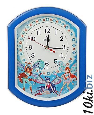 """Часы настенные """"Феи"""", детские 464377 купить в Актобе - Часы"""
