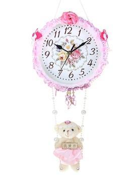"""Часы настенные детские """"Мишка на подвеске"""" 729524"""