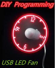 Фото Электроника, Аксессуары и запчасти для ПК Usb гаджеты мини-поделки программируемый вентилятор гибкая из светодиодов может перепрограммировать любые слова рекламный характер сообщения для ноутбук