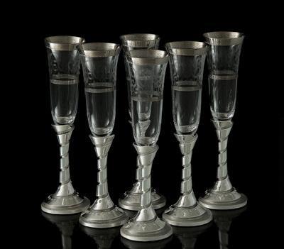"""Набор для шампанского """"Франчакорта"""", 6 бокалов 190 мл 770525"""