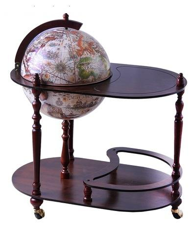 "Глобус-бар со столиком ""Колумб"", d 42 см 105957"