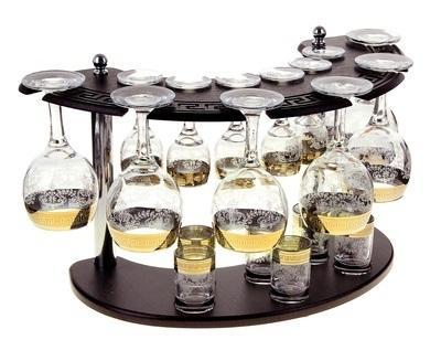 Мини-бар 18 предметов вино, гравировка 911783
