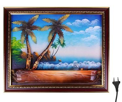 """Фонтан-картина """"Пальмы"""" 469425"""