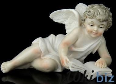 """Сувенир """"Ангел с книгой"""" лакированный 539986 купить в Актобе - Сувенирные наборы для мужчин"""
