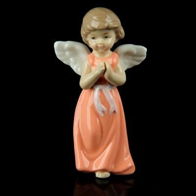 """Сувенир """"Ангел в розовом платьице с пояском"""" 865509"""