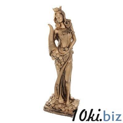 Статуэтка Фортуна, бронза, золото 1079158 купить в Актобе - Сувенирные наборы для мужчин