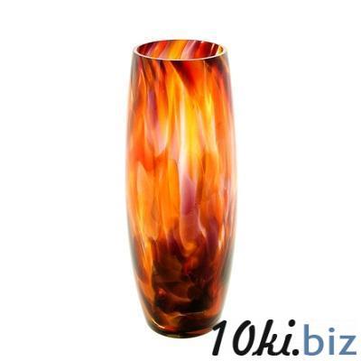 Ваза Бочка красно-марганцевая 26 см 1025322 купить в Актобе - Вазы, декоративные кувшины