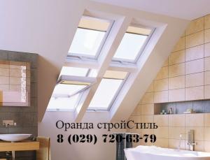 Фото  Мансардные окна Fakro