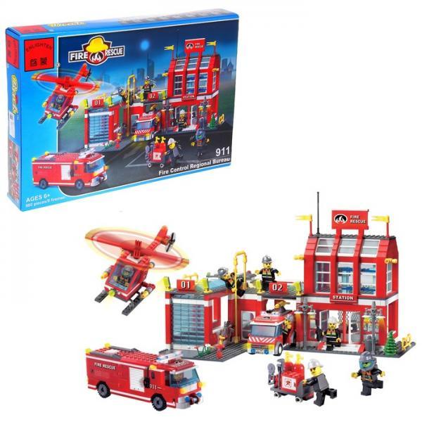 """Конструктор """"Пожарные спасатели -станция"""" 619255"""