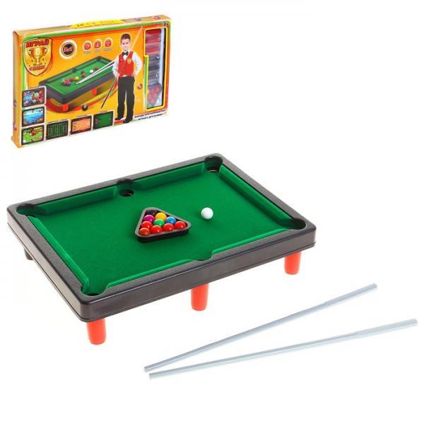 Настольная игра 5 в 1 (бильярд, стикбол, стикбоулинг, стик гольф, фингербол) 1026624