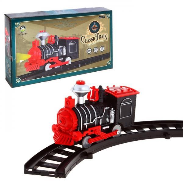 """Железная дорога """"Классический паровоз"""", световые эффекты 1028409"""