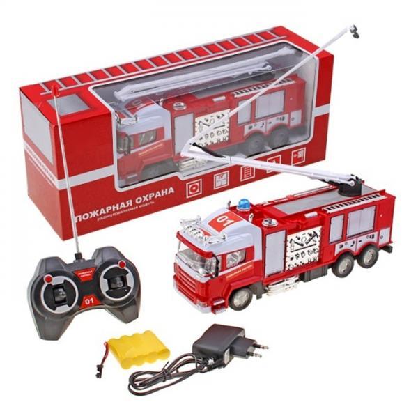 """Машина радиоуправляемая """"Пожарная охрана"""" с аккумулятором 453720"""