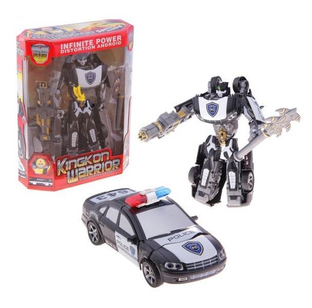 """Робот-трансформер """"Автобот-полиция"""", звуковые эффекты 573615"""