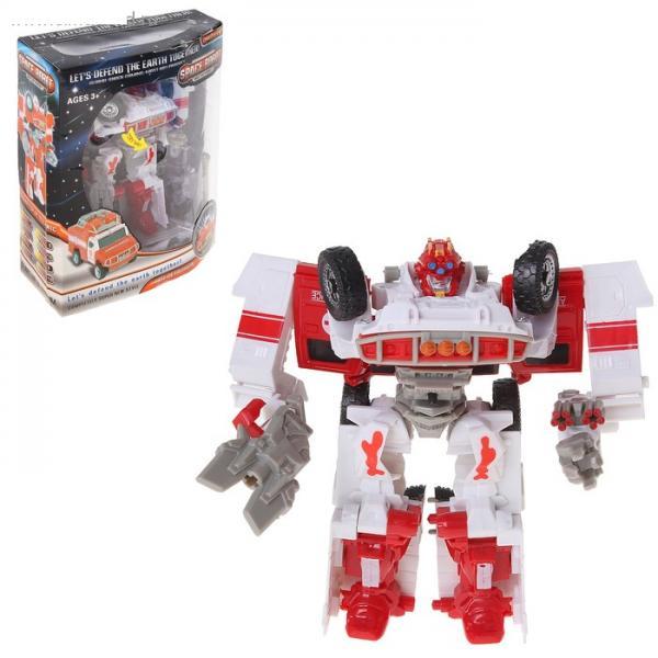 """Робот-трансформер """"Автобот"""", звуковые эффекты 575821"""