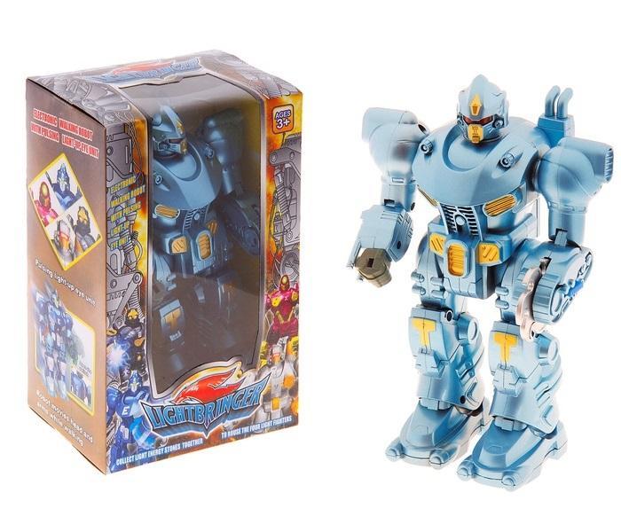 """Робот """"Гладиатор"""", работает от батареек, световые и звуковые эффекты 829006"""