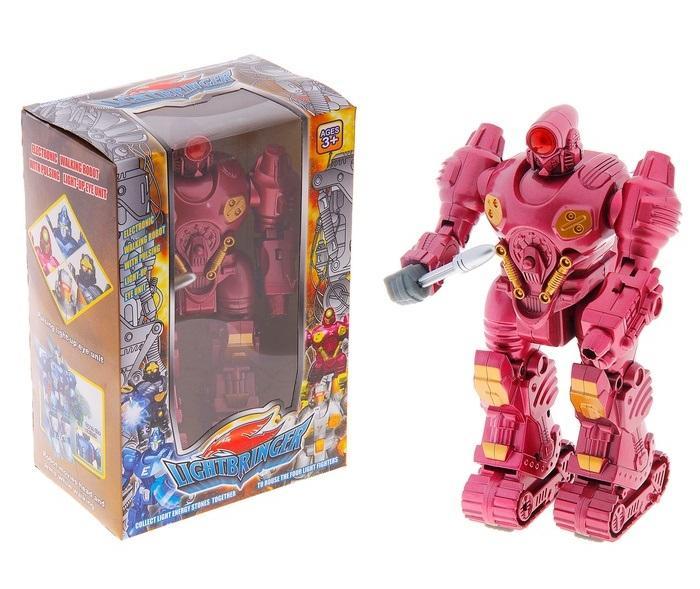 """Робот """"Гладиатор"""", работает от батареек, световые и звуковые эффекты 829005"""