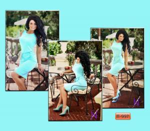 Фото Платья Арт. П-997   Платье с кармашками и шнуровкой на талии
