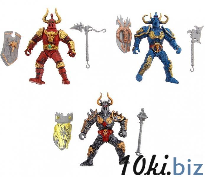 """Фигурка рыцаря """"Захватчик"""", (набор 3 шт) 1009643 купить в Актобе - Игровые фигурки, роботы, трансформеры"""