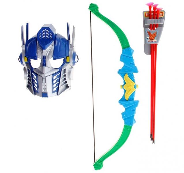 Лук со стрелами + маска 665226