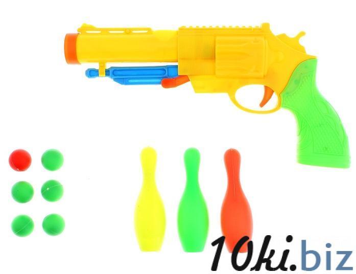 """Пистолет """"Ноган"""", стреляет мягкими пулями 1005908 купить в Павлодаре - Игрушечное оружие с ценами и фото"""