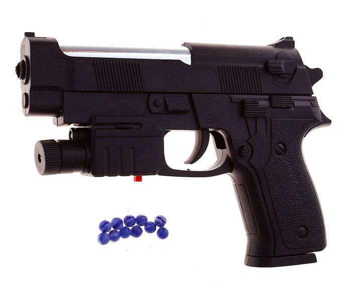 """Пистолет пневматический """"Спецагент"""", с лазером 1008442"""