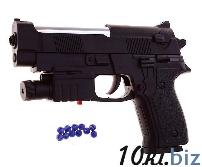 """Пистолет пневматический """"Спецагент"""", с лазером 1008442 купить в Павлодаре - Игрушечное оружие с ценами и фото"""