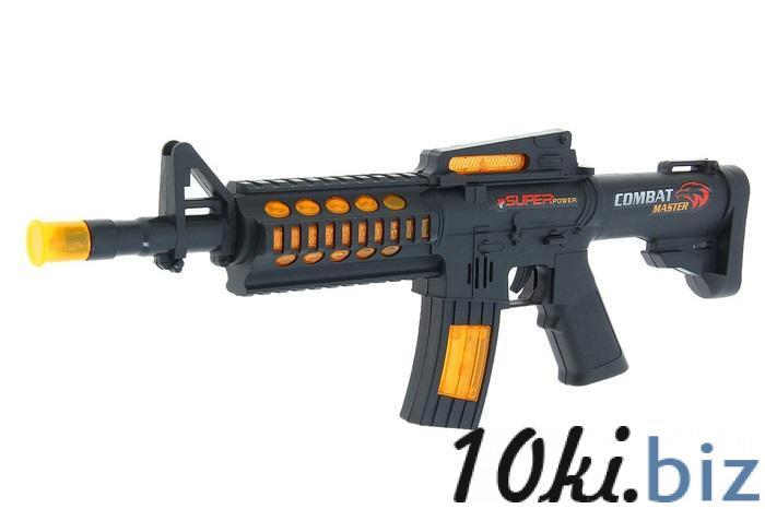 """Автомат """"М-16"""", работает от батареек, световые и звуковые эффекты 1036906 купить в Павлодаре - Игрушечное оружие с ценами и фото"""