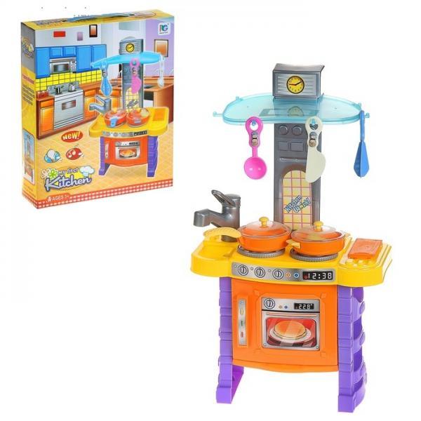 """Игровой набор """"Моя первая кухня"""" с посудой, звуковые эффекты, работает от батареек, высота: 52 см 461634"""