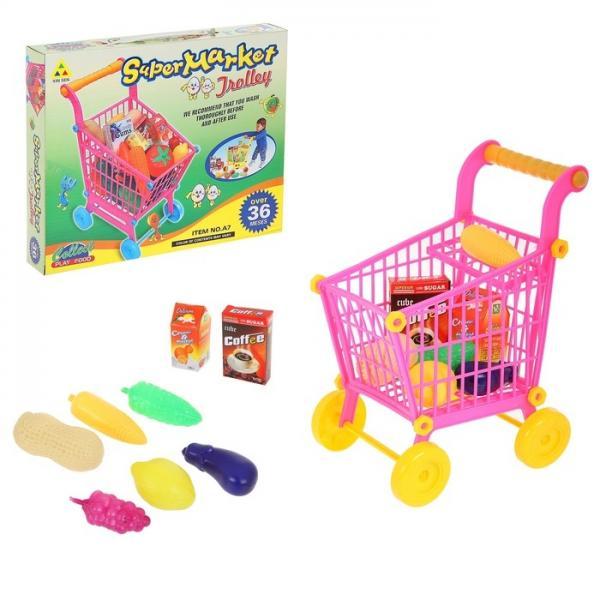 """Игровой набор """"Супермаркет"""" с продуктами"""" (маленькая), высота: 27 см 593643"""