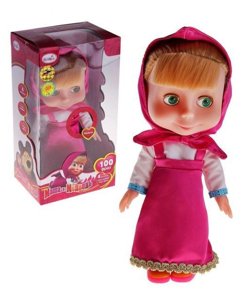 """Кукла """"Маша"""" говорит 100 фраз, поет 4 песни 155861"""