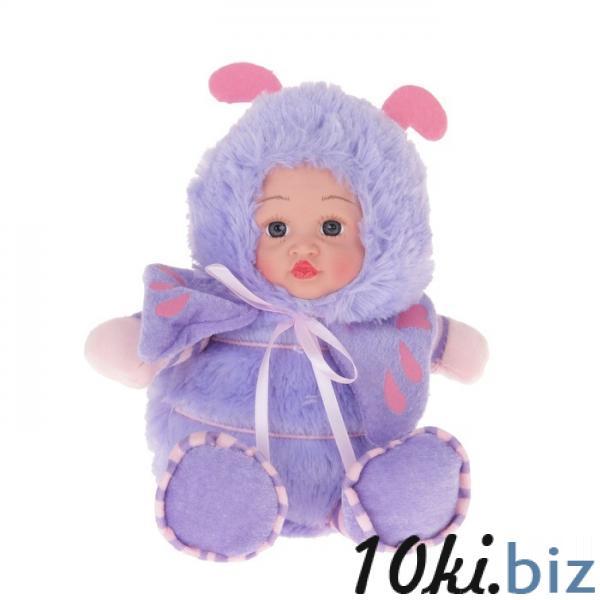 """Мягкая игрушка """"Кукла костюм божья коровка"""" сиреневая 304740 купить в Актобе - Мягкие игрушки"""