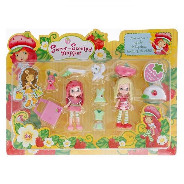 "Куклы ""Клубнички"" с аксессуарами, в коробке 432596"