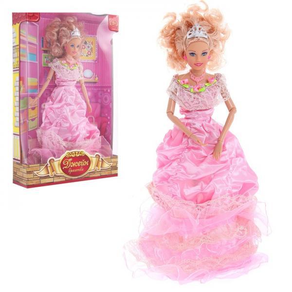 """Кукла шарнирная Джейн """"Принцесса"""", с аксессуарами 841534"""