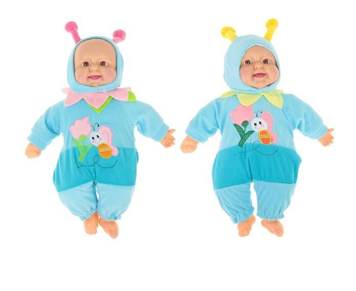 """Мягкая игрушка """"Кукла костюм пчелка"""" хохочет (работает от батареек) 1016956"""