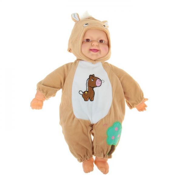 """Мягкая игрушка """"Кукла в костюме пони"""" хохочет, работает от батареек 1016962"""