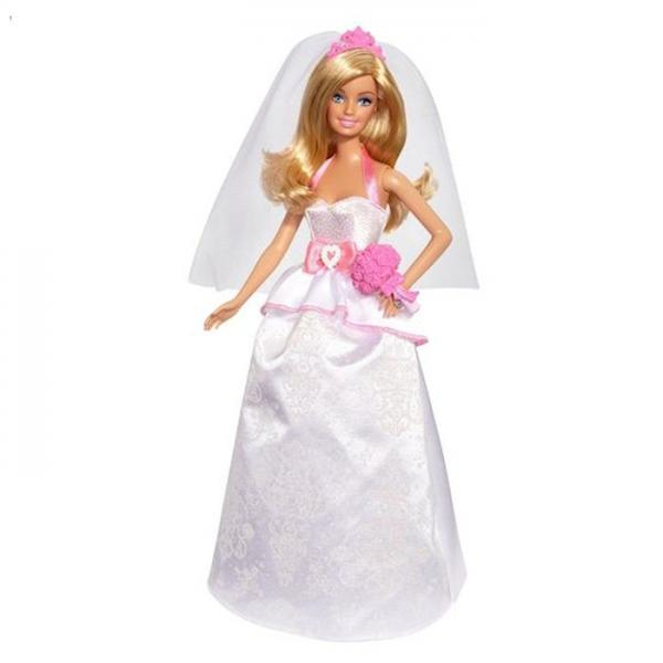 """Кукла Барби """"Сказочная невеста"""" 1065427"""