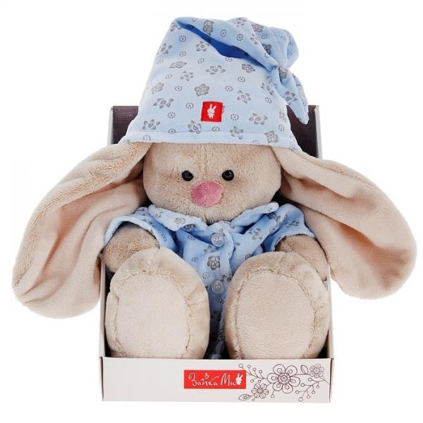 """Мягкая игрушка """"Зайка Ми"""" в голубой пижаме, большая 871967"""