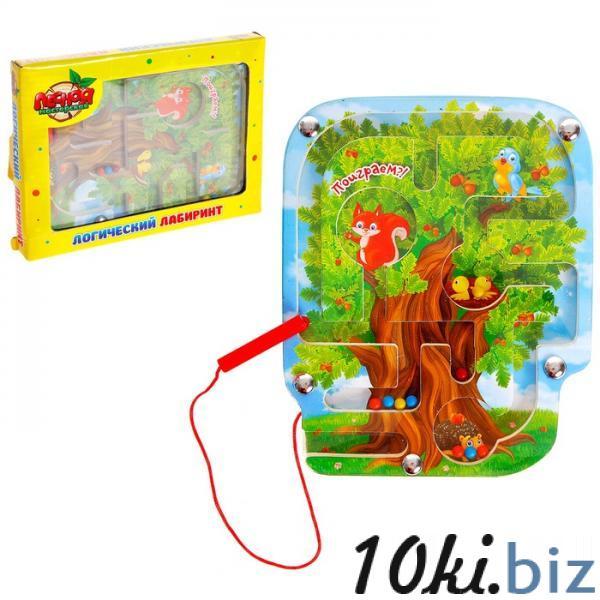 """Лабиринт магнитный малый """"Волшебное дерево"""" 841793 купить в Павлодаре - Пазлы и головоломки с ценами и фото"""