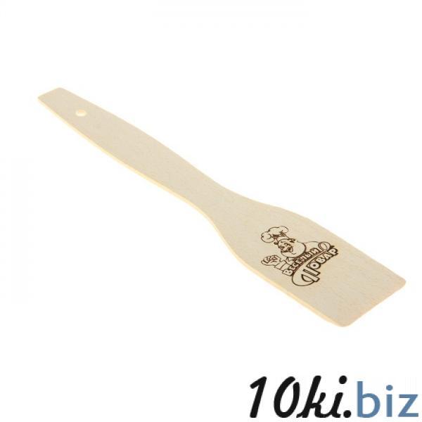 """Лопатка кулинарная """"веселый повар"""" 1145740 Кухонные лопатки и ложки, кухонные вилки в Казахстане"""