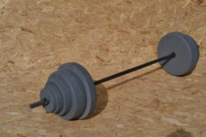 Фото Штанги Штанга 105 кг от производителя + 10 кг дисков в подарок