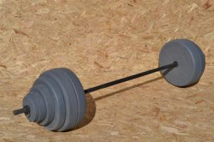 Фото Штанги Штанга 127 кг + 2 диска по 5 кг в подарок