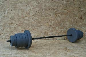 Фото Штанги Штанга 80 кг + гантели по 25 кг + 4 диска в подарок