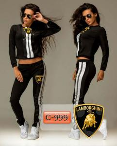 Фото Спортивные костюмы Арт. С-999     Женский спортивный костюм «Lamborghini»