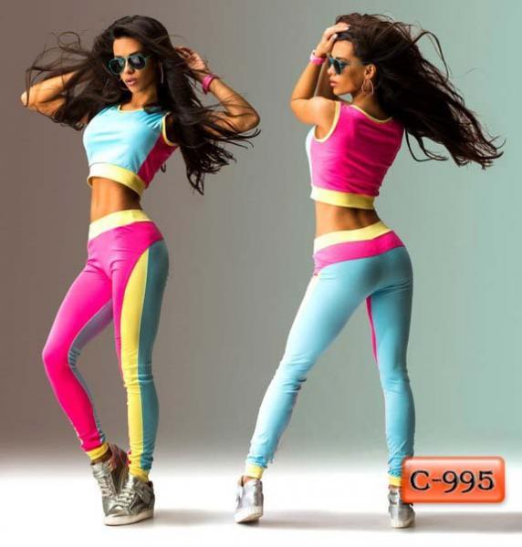 Арт. С-995     Спортивный костюм для занятий фитнесом